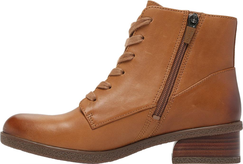 Women's Dansko BeBe Ankle Bootie, Luggage Leather, large, image 3