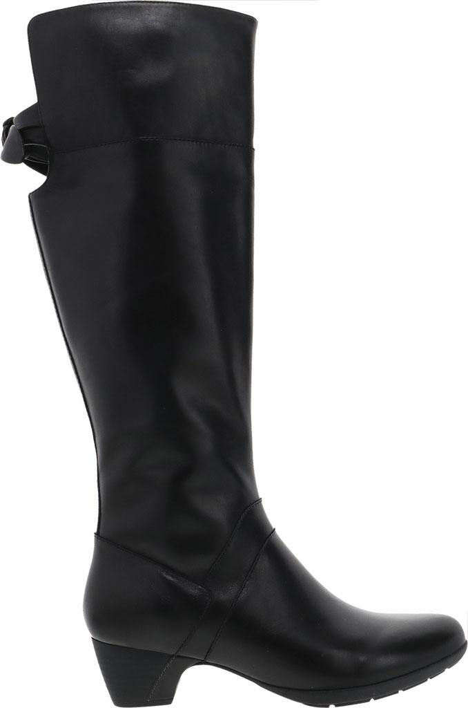 Women's Dansko Dori Knee High Boot, Black Aniline Calf Leather, large, image 2