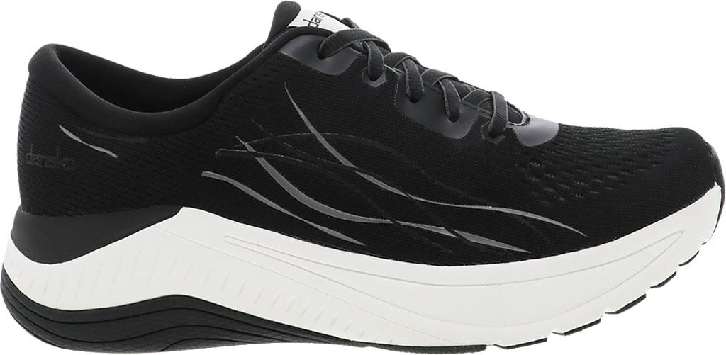 Women's Dansko Pace Sneaker, Black Mesh, large, image 1