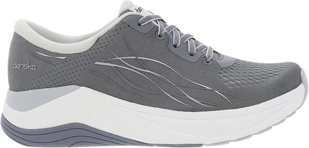 Women's Dansko Pace Sneaker, Grey Mesh, large, image 1