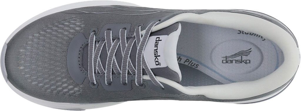 Women's Dansko Pace Sneaker, Grey Mesh, large, image 2