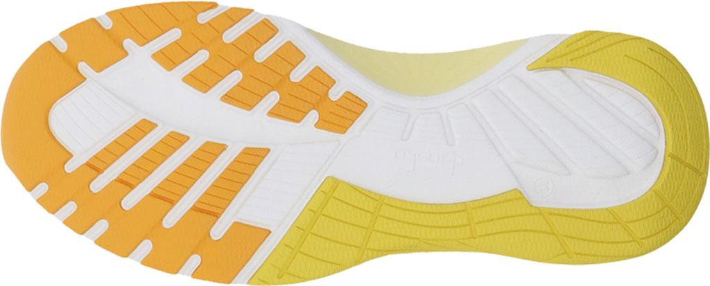 Women's Dansko Pace Sneaker, Yellow Mesh, large, image 3