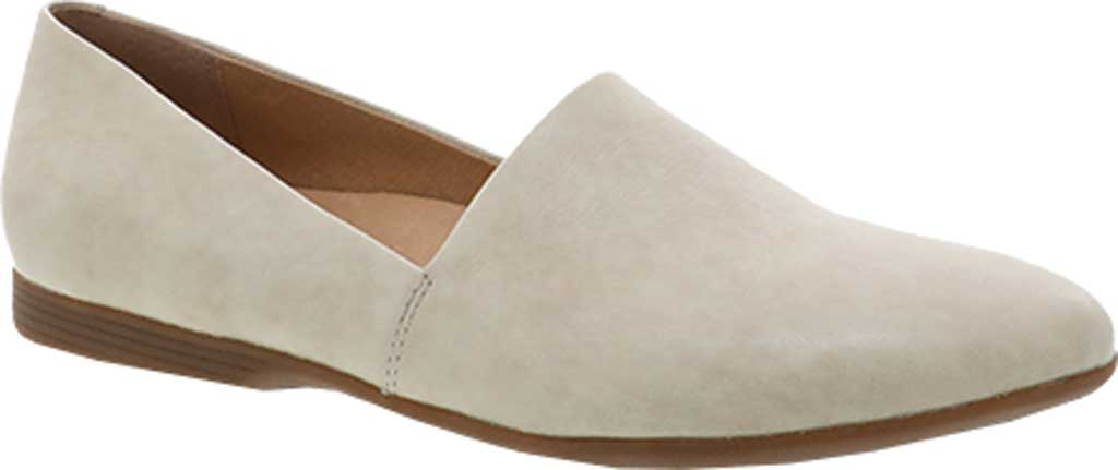 Women's Dansko Larisa Slip On Flat, Linen Milled Nappa Leather, large, image 1