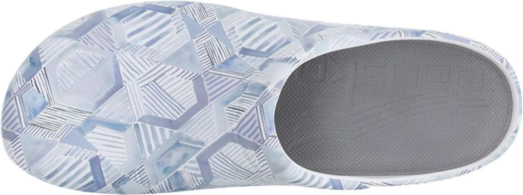 Women's Dansko Kane Clog, Grey Geo Molded Eco-Friendly EVA, large, image 2