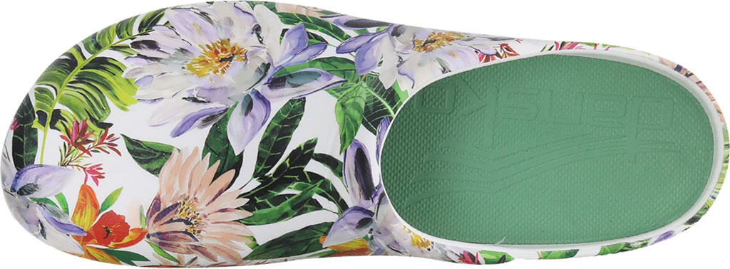 Women's Dansko Kane Clog, Vintage Tropical Molded Eco-Friendly EVA, large, image 2