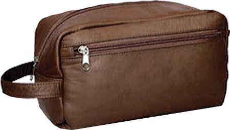 David King Leather 415 Large Shave Kit, Cafe, large, image 1
