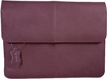 David King Leather 150 1/2 Flap Over Envelope, Cafe, large, image 1