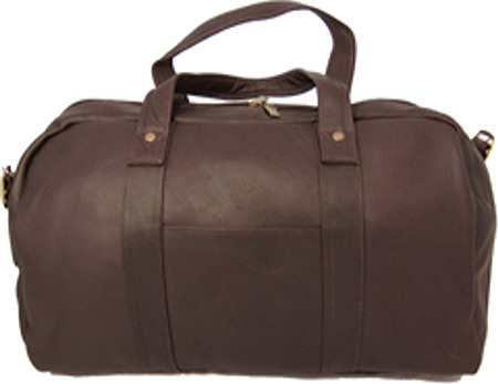 David King Leather 308 A Frame Duffel, Cafe, large, image 1