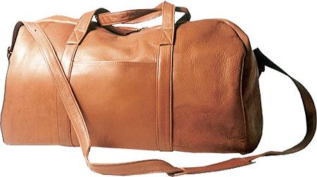 David King Leather 308 A Frame Duffel, Tan, large, image 1