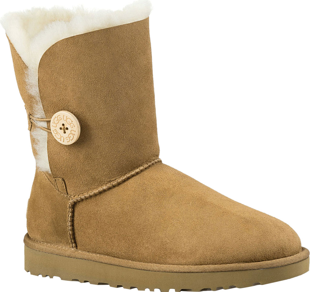 Women's UGG Bailey Button II Boot, Chestnut 2, large, image 1