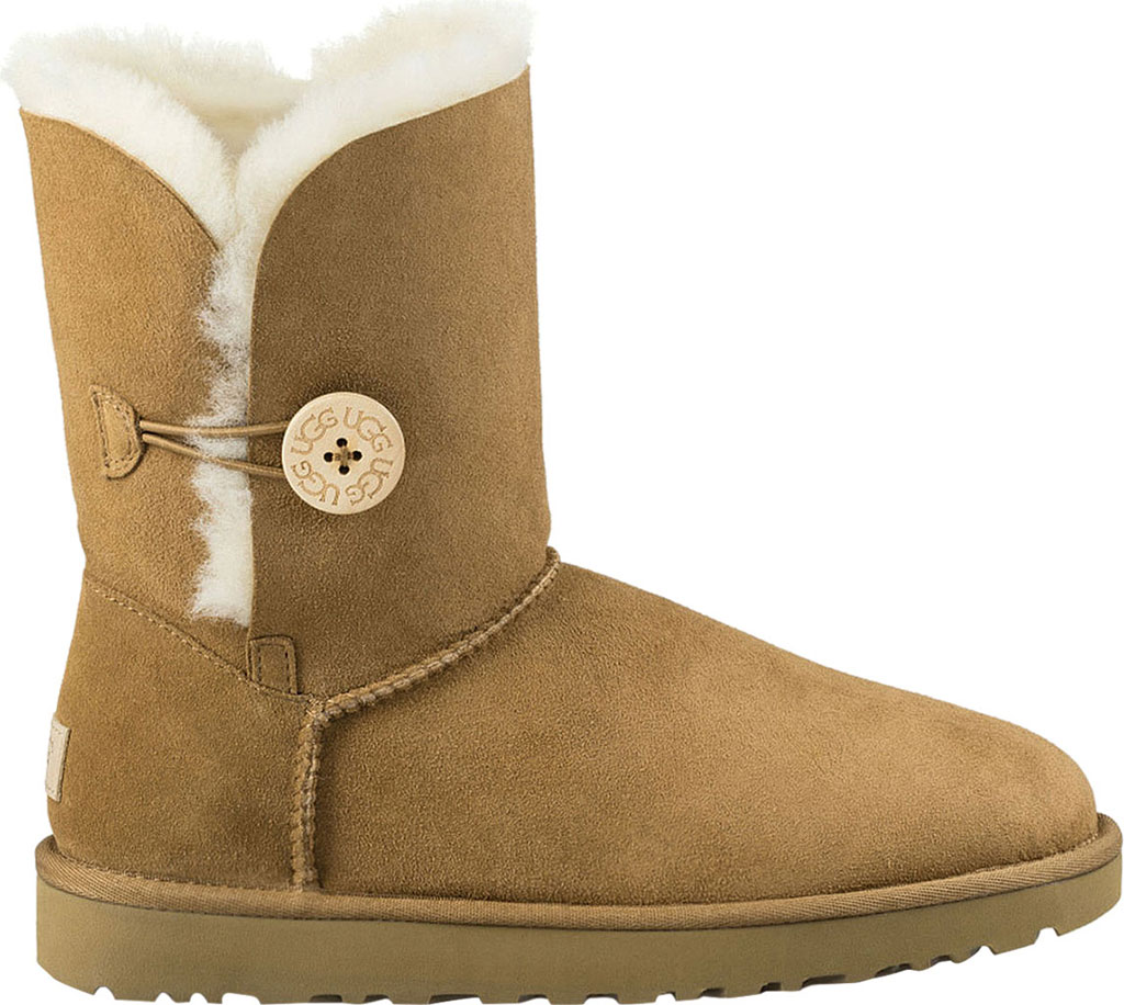 Women's UGG Bailey Button II Boot, Chestnut 2, large, image 2