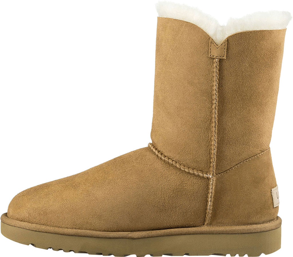 Women's UGG Bailey Button II Boot, Chestnut 2, large, image 3