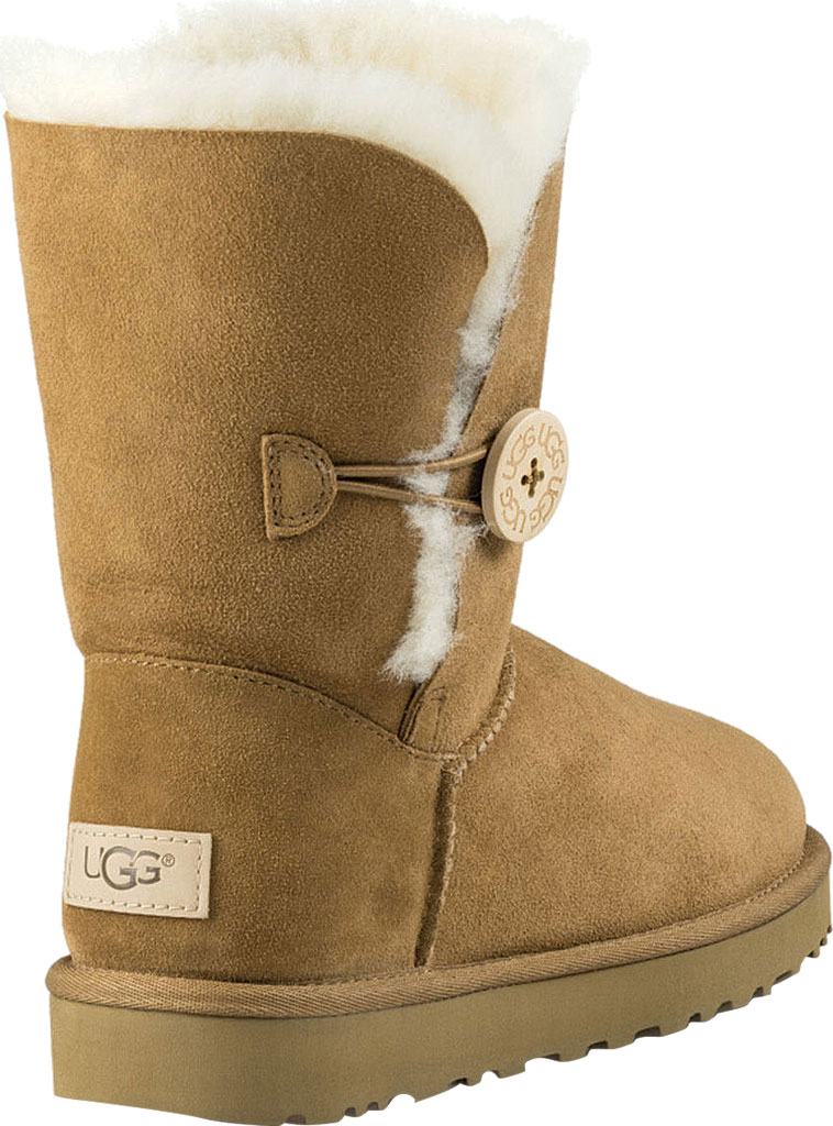 Women's UGG Bailey Button II Boot, Chestnut 2, large, image 4