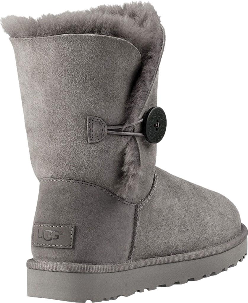 Women's UGG Bailey Button II Boot, Grey 2, large, image 4