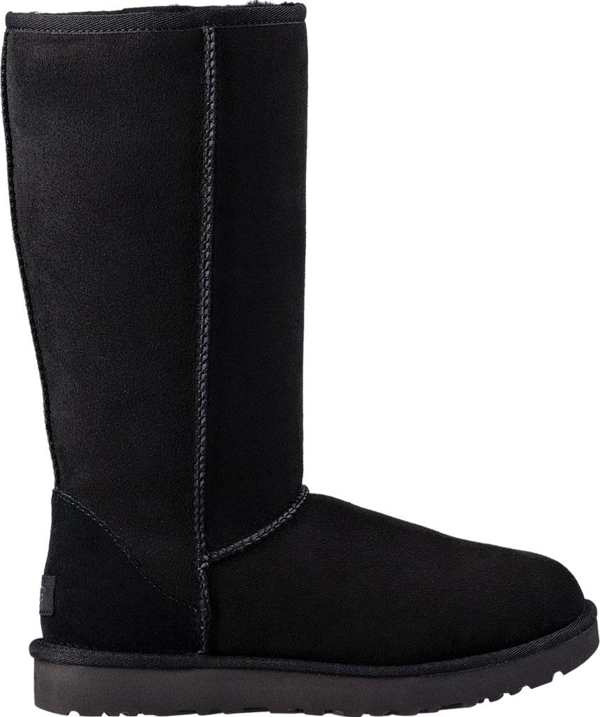 Women's UGG Classic Tall II Boot, Black 2, large, image 2