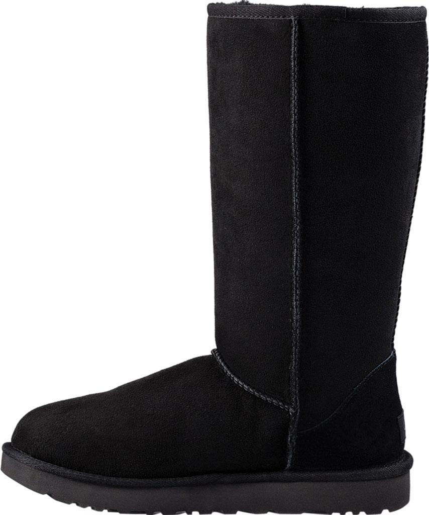 Women's UGG Classic Tall II Boot, Black 2, large, image 3