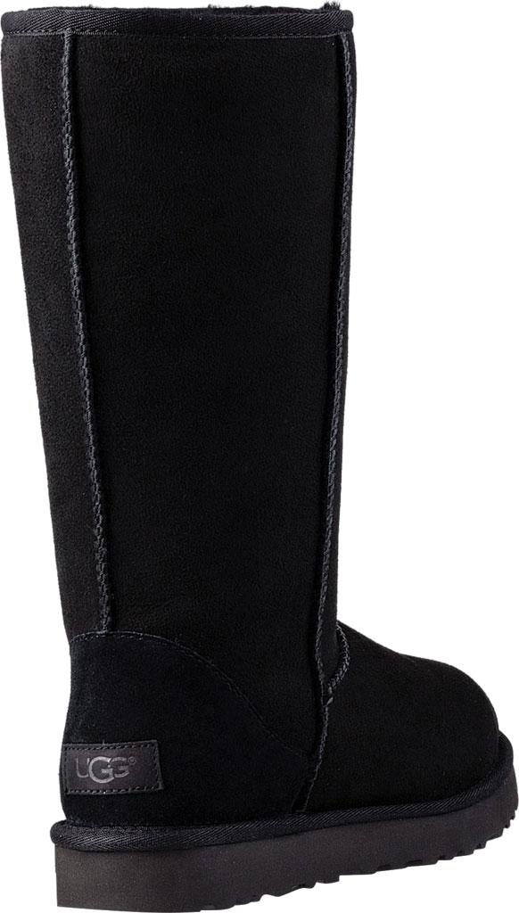 Women's UGG Classic Tall II Boot, Black 2, large, image 4