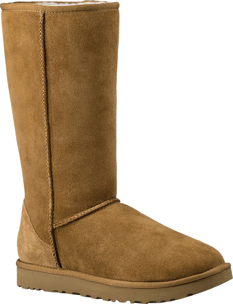 Women's UGG Classic Tall II Boot, Chestnut 2, large, image 1