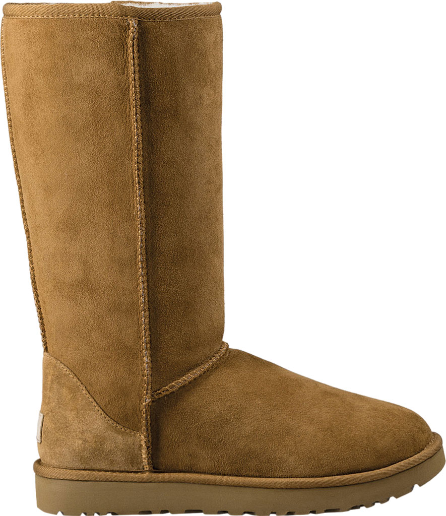 Women's UGG Classic Tall II Boot, Chestnut 2, large, image 2
