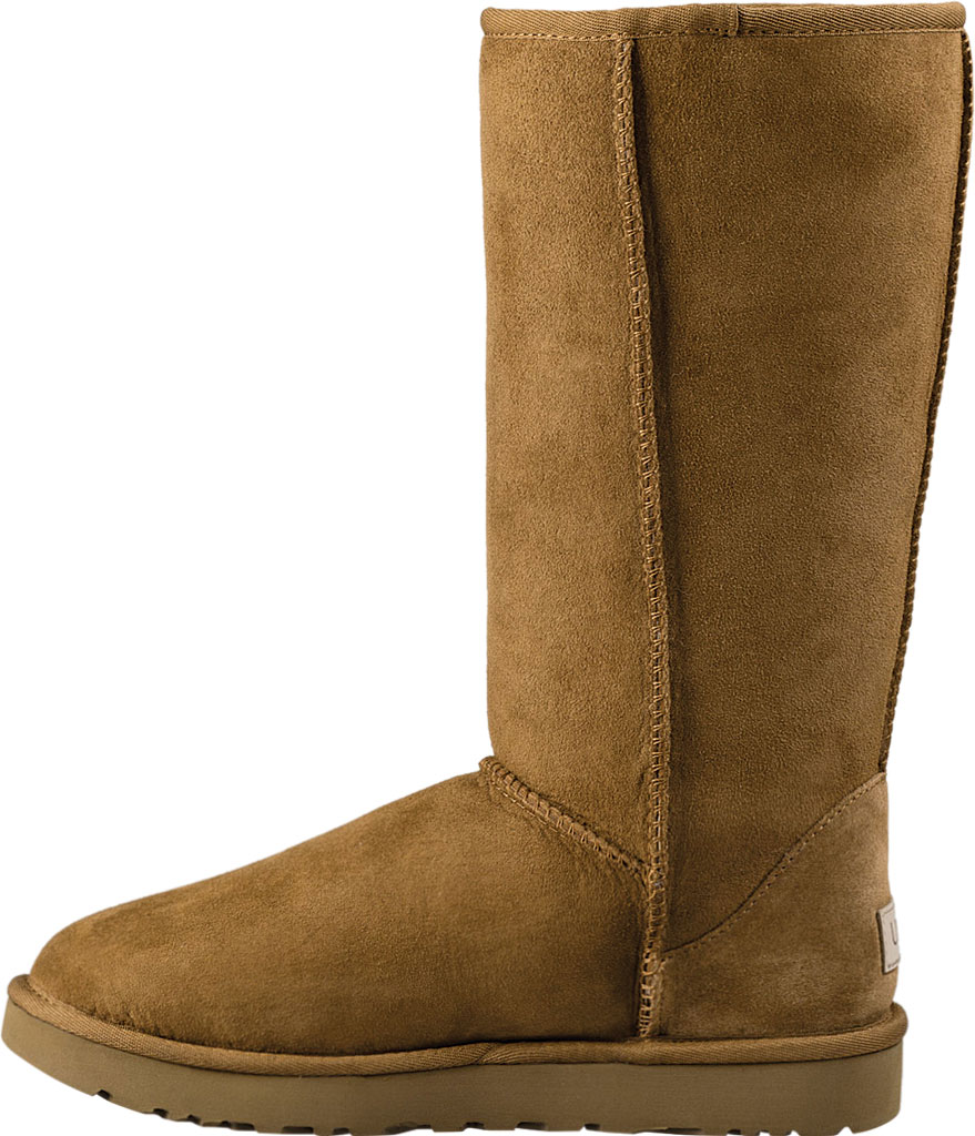 Women's UGG Classic Tall II Boot, Chestnut 2, large, image 3
