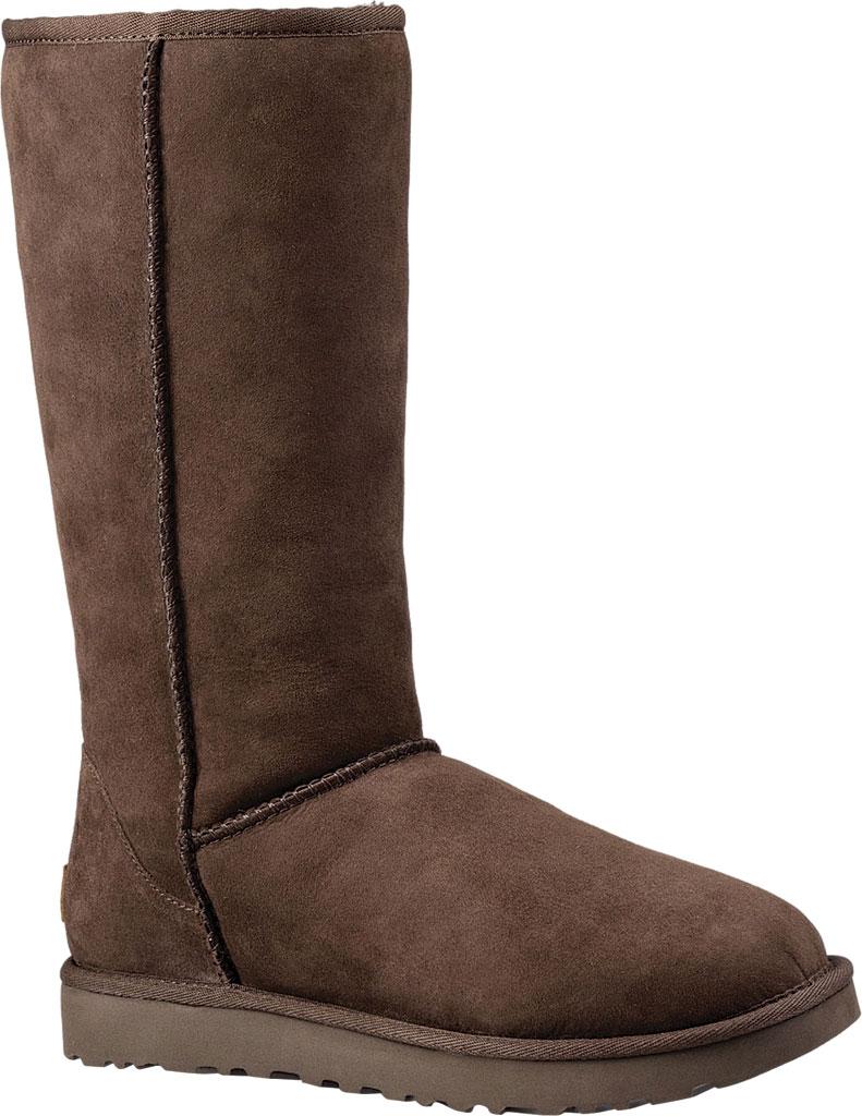 Women's UGG Classic Tall II Boot, Chocolate 2, large, image 1