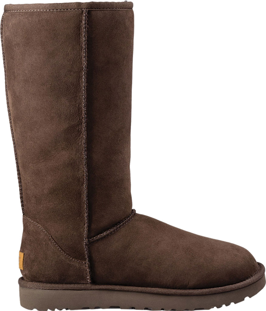 Women's UGG Classic Tall II Boot, Chocolate 2, large, image 2