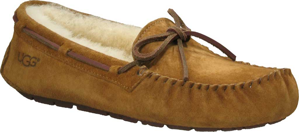 Women's UGG Dakota Slipper, Chestnut, large, image 1