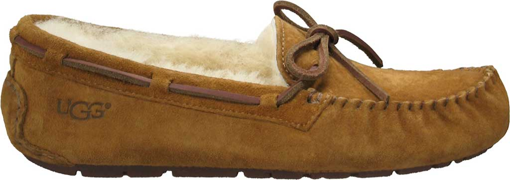 Women's UGG Dakota Slipper, Chestnut, large, image 2