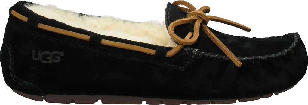 Women's UGG Dakota Slipper, Black, large, image 2