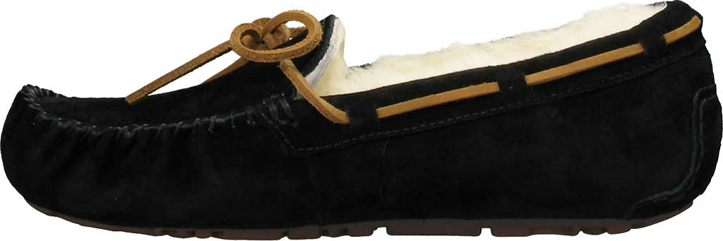 Women's UGG Dakota Slipper, Black, large, image 3