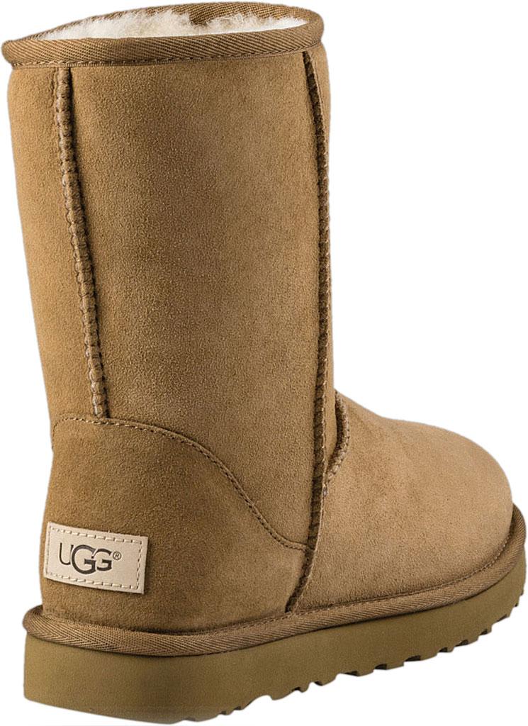 Women's UGG Classic Short II Boot, Chestnut 2, large, image 4