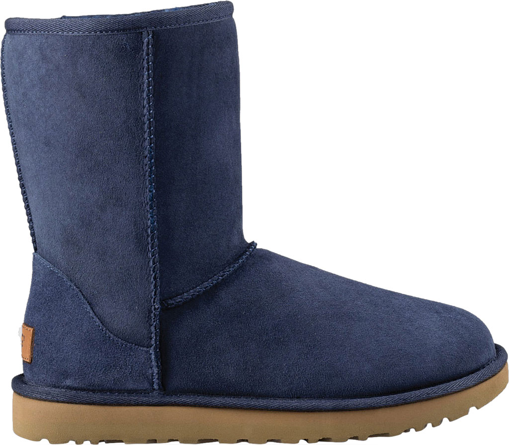 Women's UGG Classic Short II Boot, Navy 2, large, image 2