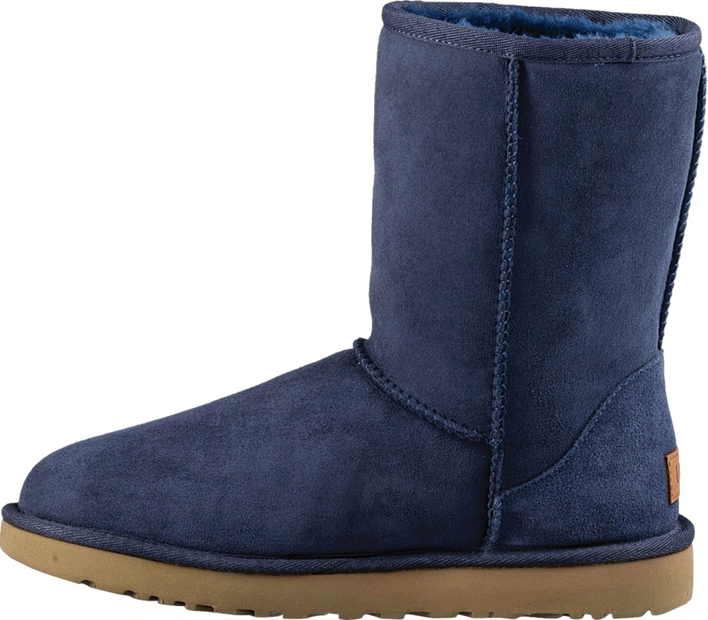Women's UGG Classic Short II Boot, Navy 2, large, image 3
