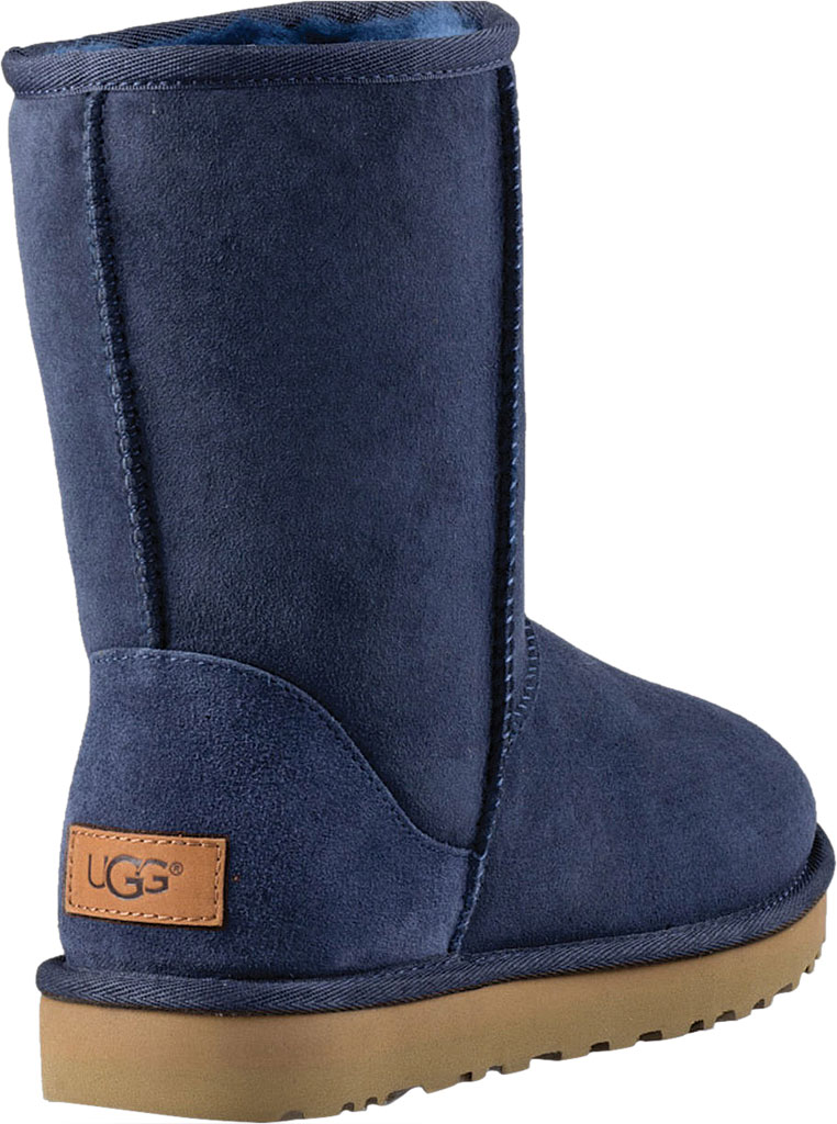 Women's UGG Classic Short II Boot, Navy 2, large, image 4