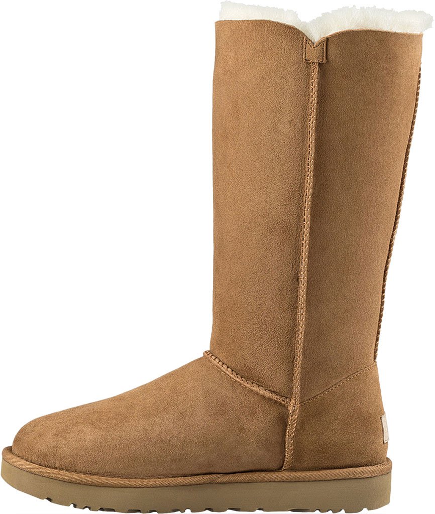 Women's UGG Bailey Button Triplet II Boot, Chestnut 2, large, image 3