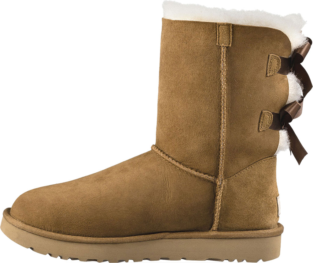 Women's UGG Bailey Bow II Boot, Chestnut 2, large, image 3