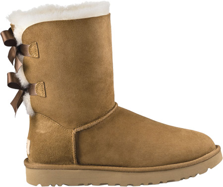 Women's UGG Bailey Bow II Boot, Chestnut 2, large, image 2
