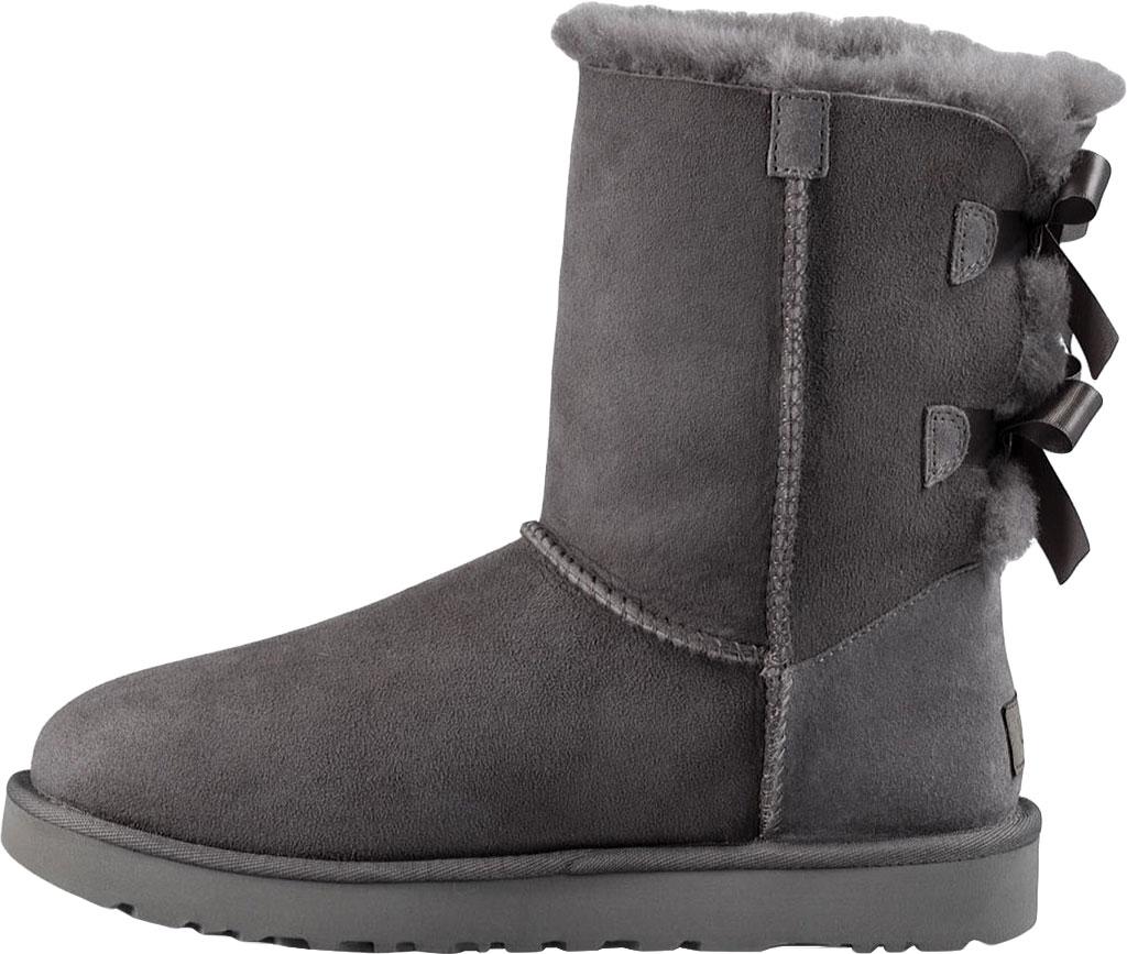 Women's UGG Bailey Bow II Boot, Grey 2, large, image 3