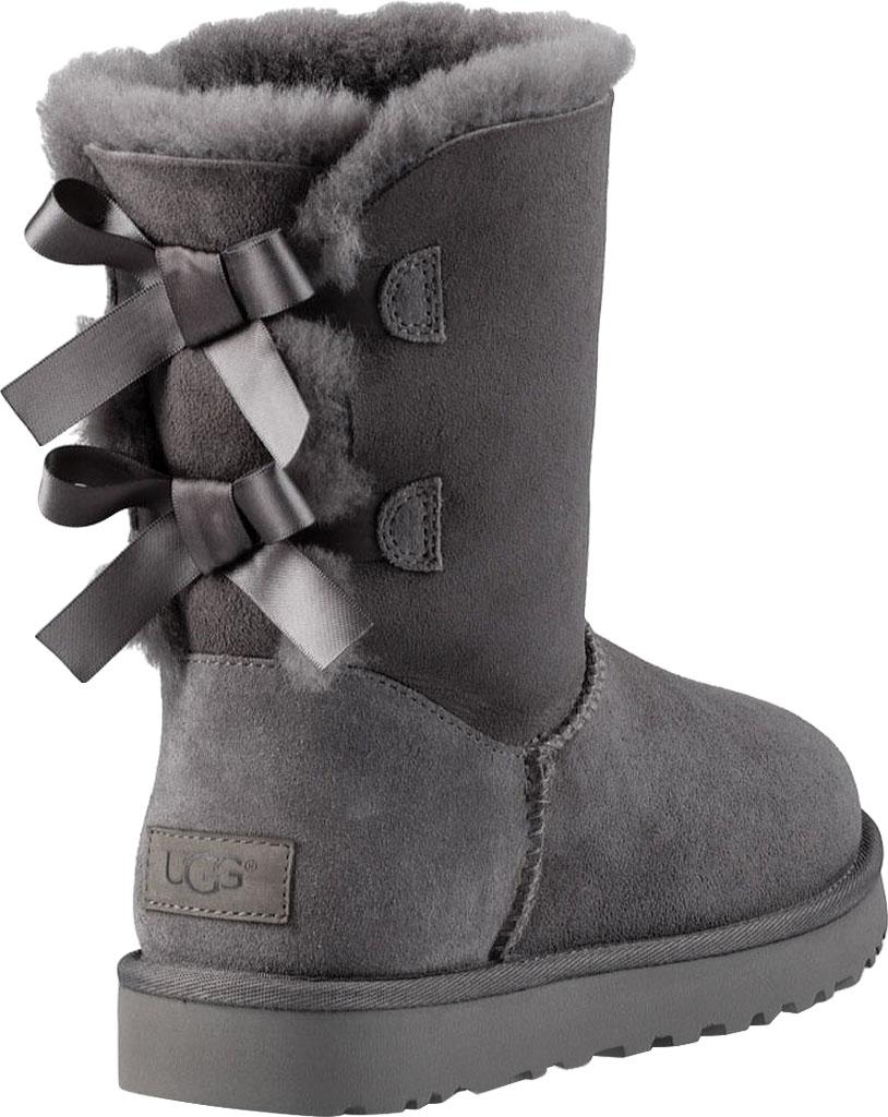 Women's UGG Bailey Bow II Boot, Grey 2, large, image 4