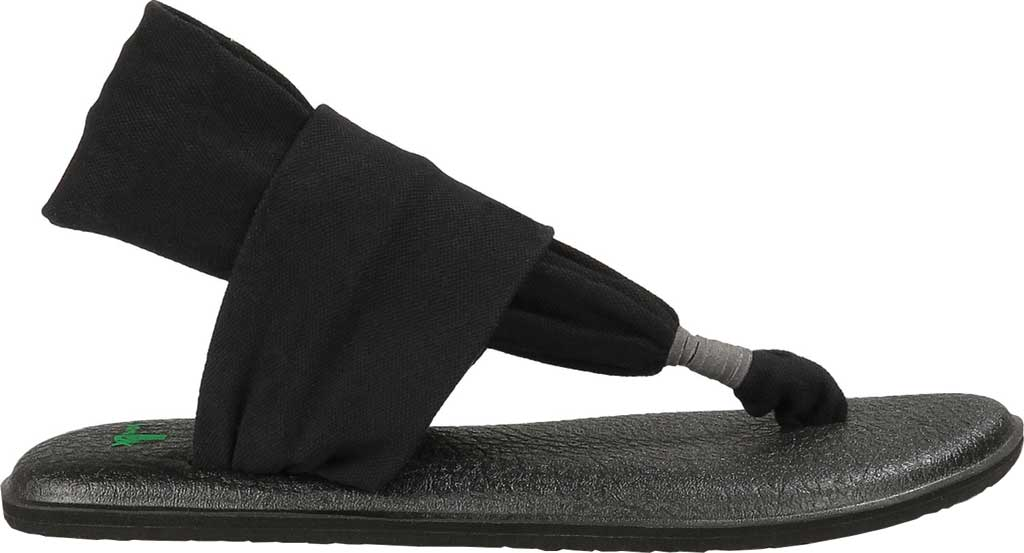 Women's Sanuk Yoga Sling 2, Black, large, image 2