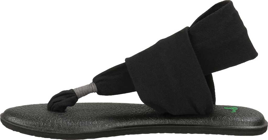 Women's Sanuk Yoga Sling 2, Black, large, image 3