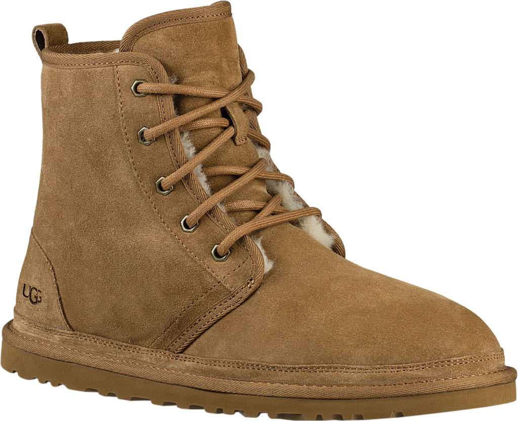 Men's UGG Harkley Ankle Boot, Chestnut Suede, large, image 1