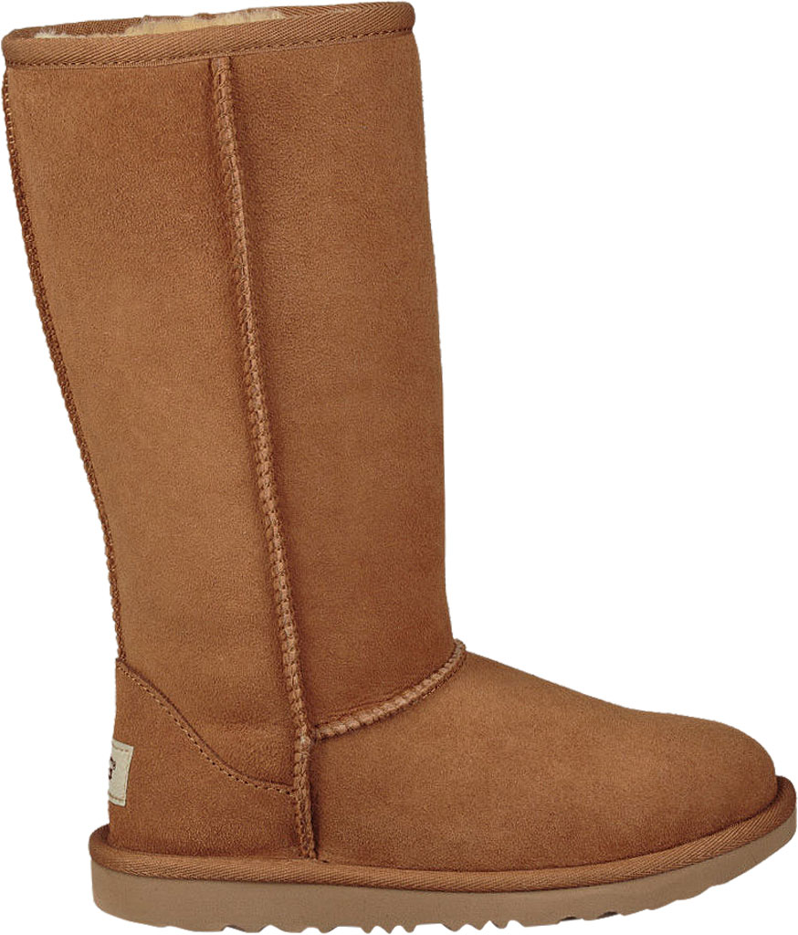 Children's UGG Classic Tall II Kids Boot, Chestnut Twinface, large, image 2