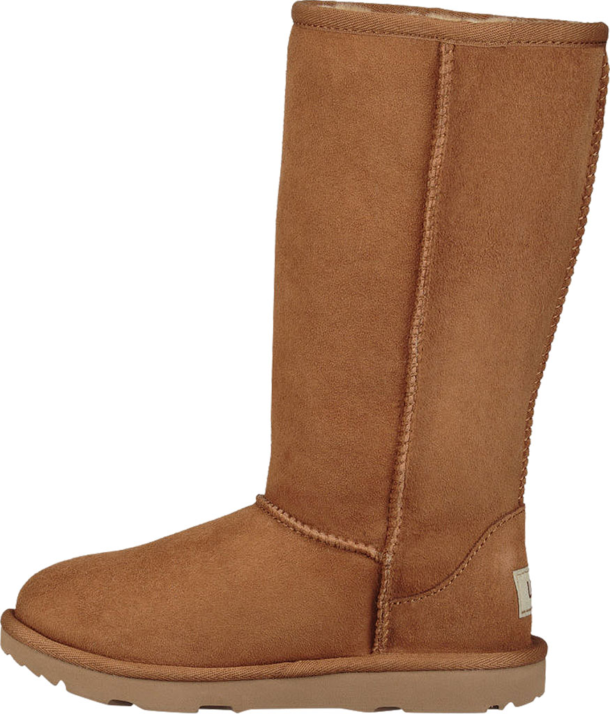 Children's UGG Classic Tall II Kids Boot, Chestnut Twinface, large, image 3