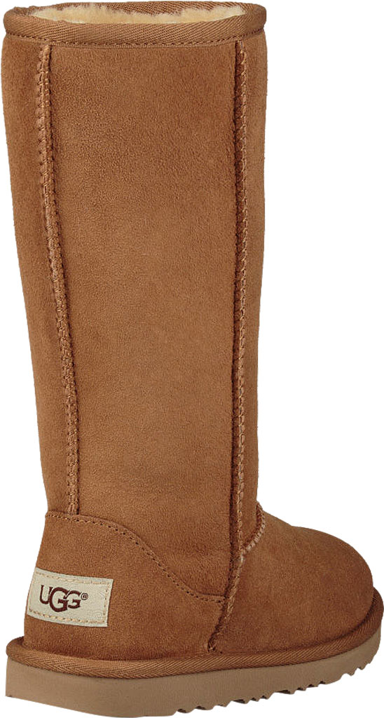 Children's UGG Classic Tall II Kids Boot, Chestnut Twinface, large, image 4