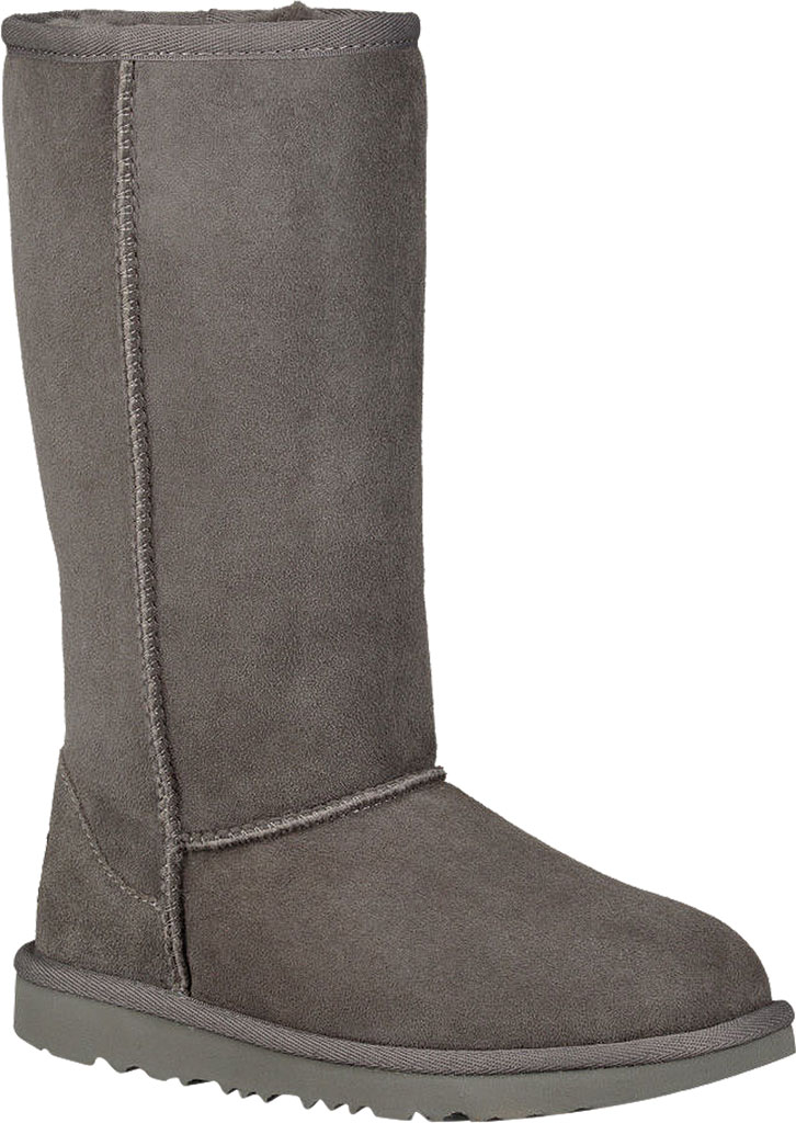 Children's UGG Classic Tall II Kids Boot, Grey Twinface, large, image 1
