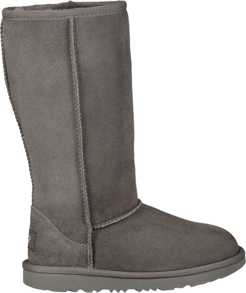 Children's UGG Classic Tall II Kids Boot, Grey Twinface, large, image 2