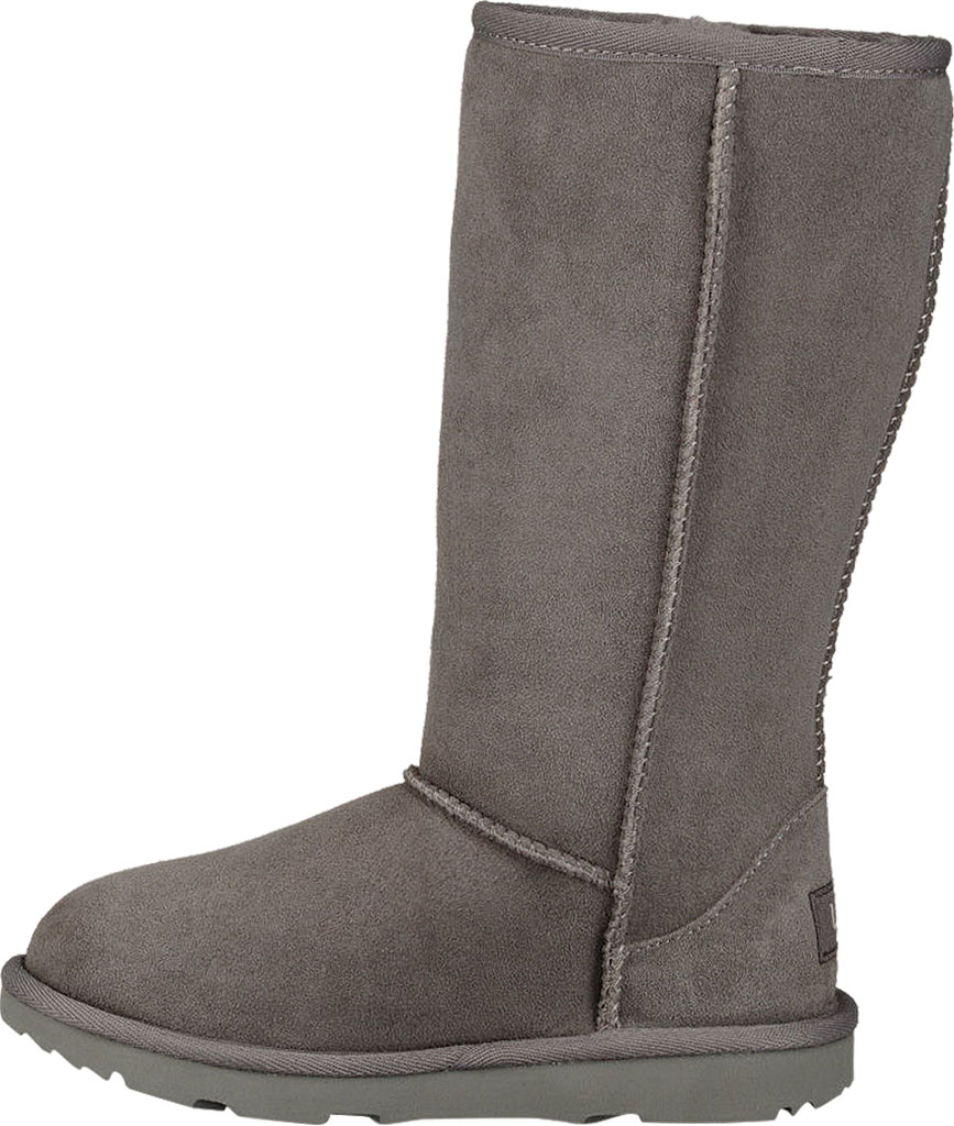 Children's UGG Classic Tall II Kids Boot, Grey Twinface, large, image 3