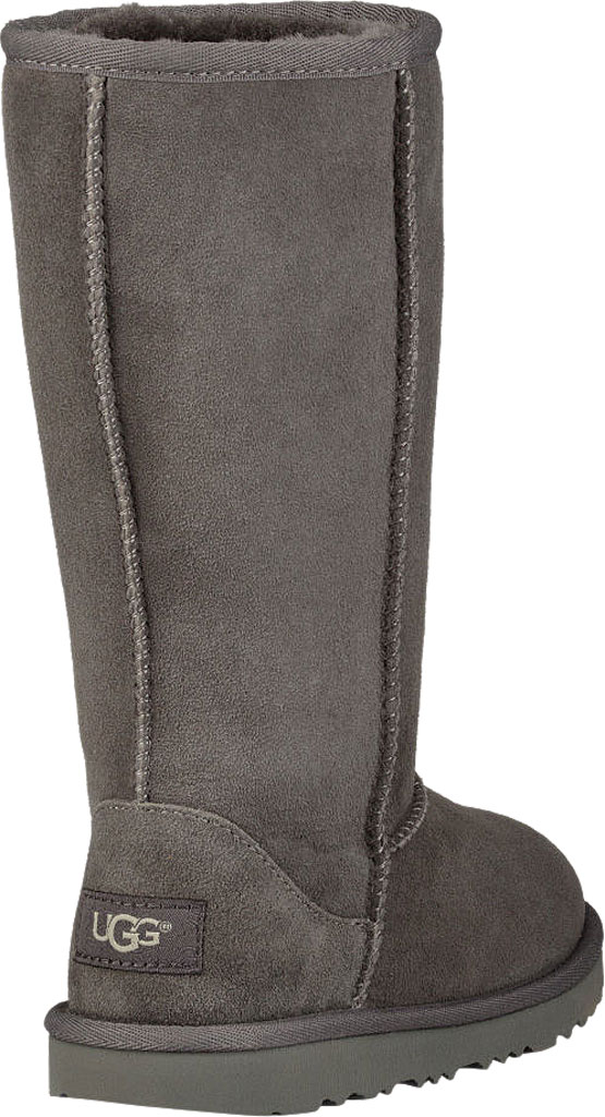 Children's UGG Classic Tall II Kids Boot, Grey Twinface, large, image 4