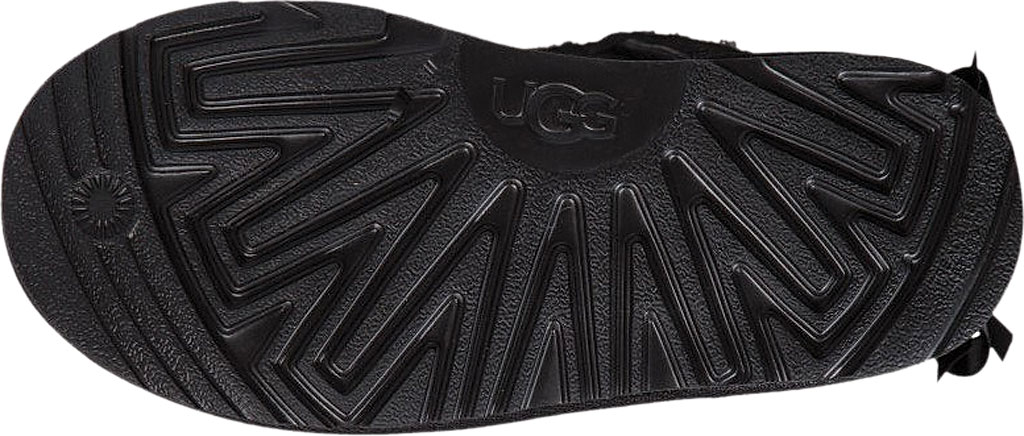 Children's UGG Bailey Bow II Kids Boot, Black Twinface, large, image 6